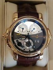 Ulysse Nardin Sonata Cathedral Dual Time 18K Rose Gold Watch 676-88/212