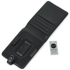 "*NEW* Filofax ""Belgravia"" Leather Multi-fit Vintage PDA Holder in Black *NOS*"