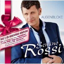 """SEMINO ROSSI """"AUGENBLICKE (GESCHENK-EDITION)"""" 2 CD NEW+"""