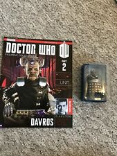 "DOCTOR WHO FIGURINE COLLECTION #2 ""DAVROS"" (EAGLEMOSS)"