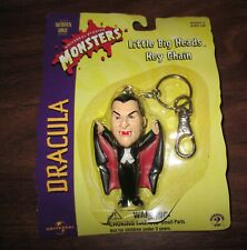 1999 SIDESHOW INC. UNIVERSAL MONSTERS LITTLE BIG HEADS KEY CHAIN * DRACULA MOC