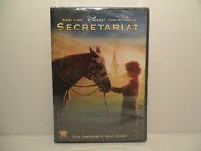 SECRETARIAT - Diane Lane & John Malkovich - New Disney DVD Sealed - True Story