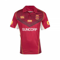 New Canterbury Queensland State Of Origin Training Polo Rugby League XS, S, M