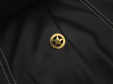 Clint Eastwood Unforgiven movie Promotional Sheriff's Golden Badge  Rare 1992/93