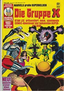 DIE GRUPPE X #18 VG/FN 1983 MARVEL SONDERHEFT CONDOR VERLAG GERMAN X-MEN COMIC
