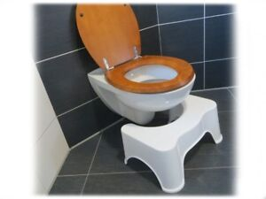 21cm HQ medizinischer Toilettenhocker Toilettenstuhl Toilettenhilfe WC Schemel