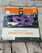 New ! Decorate Your Own Princess Mask Party Time Birthday Wedding party