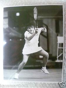 Tennis Press Photo- POSPISILOVA in action Czechoslovakian Player (Original*)