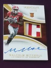 2016 Panini Immaculate Collection Collegiate Malcolm Mitchell