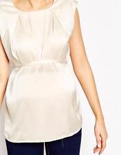 Plus Size Sleeveless Maternity Tops & Shirts