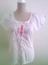 Beautiful Embroidery Mexican Cotton Top Bohemian , Gypsy Hippie Top