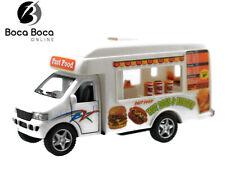 """Fast Food Truck Kinsfun Kinsmart 5"""" Diecast"""