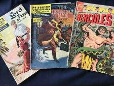 LOTof 6Vintage Comics from the 1950/60's including The Invisible Man and more