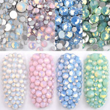 Mix Opal Crystal Nail Art Rhinestones 3D Charm DIY Jewelry Sticker Decoration
