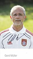 Gerd MÜLLER - Fussball-Weltmeister 1974, FC Bayern München, 2013/14, Original!