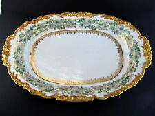 "16"" Antique Pouyat Limoges France Dinner Tray Wanamaker Early 1900s"