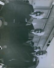 1933 President Hoover w/Marshall Hale Mark Requa Press Photo