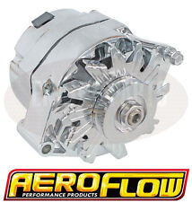 Holden HQ HJ HX HZ WB 253 308 V8 Aeroflow Chrome Alternator 100 AMP Internal Reg