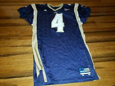 2002 Adidas AKRON ZIPS TEAM ISSUED FOOTBALL JERSEY #4 SIZE 46 game used
