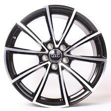 NEU Audi A4 A5 B8 A6 A7 4G Q3 Q5 19 Zoll Alufelgen s line Schwarz poliert WH28