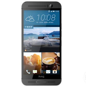 """Unlocked HTC One M9+ Plus LTE 5.2"""" 32GB 4G Android Smartphone Gray"""