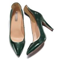 Avon! MARK Emerald Princess PUMPS Shoes Size 7 Women/Juniors NEW NIB GREEN