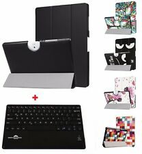 TabletHutbox Slim Case Cover & Bluetooth Keyboard for Acer Iconia One 10 B3-A40