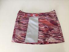 KENZO Mini Skirt Size 34 Uk 6 XS Red