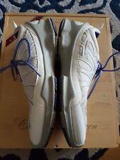 ECCO Biom Performance Train Women's Shoes Size EU  41 US 10.5 White & blue READ