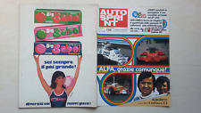 AUTOSPRINT 1980 N°41 A. JONES WILLIAMS-FW07 SAAB TURBO F.3 ALBORETO FABI 8/17