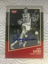 2013-14 Fleer Retro Autographs Jerry Lucas #24