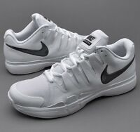 B3 NIKE ZOOM VAPOR 9.5 TOUR QS WHITE BLACK UK 6.5 EU 40.5 TENNIS SHOE 812937-101