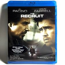The Recruit (Blu-ray, 2008, Widescreen) Brand New !   Al Pacino   Colin Ferrell