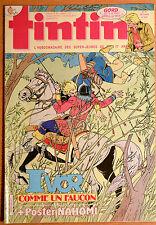 BD Comics Magazine Hebdo Journal Tintin No 17 42e 1987 Ivor