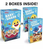 Baby Shark LIMITED EDITION Cereal By Kelloggs. 2 BOXES. SEALED. NEW