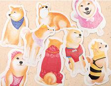 LOT 30PCS Shiba Inu Dog Illustration Irregular Postcard Dog PATTERN Card