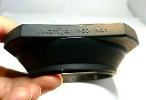 Mamiya 77mm Rubber Wide Lens Hood Shade slip on for 50mm f4.5C 75mm f3.5 RB67