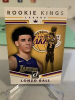 2017-18 Donruss Rooke Kings LONZO BALL RC - Lakers, New Orleans Pelicans