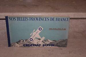 """album d'images chocolat lanvin """"l'oiseau blanc"""" (1937)"""
