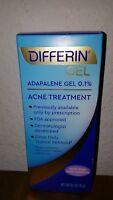 Differin Acne Treatment Gel Retinoid Adapalene 0.1% FRESH .5 oz/15 g Exp 9/2021