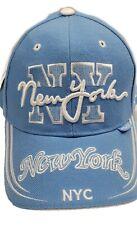 NWT ethos NY New York cap blue Baseball cap hat