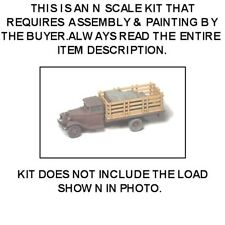 1930 FORD MODEL AA STAKE-BED TRUCK - N SCALE KIT - GHQ 56009