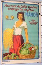 VIANO -  ENGRAIS MANON - USINE DES EYSSARIADES ROBION VAUCLUSE  Circa 1930-40