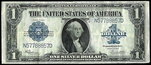 1923 UNITED STATES $1 SILVER CERTIFICATE NOTE FR. # 237 SPEELMAN & WHITE