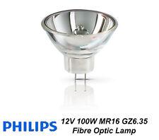 12V 100W Halogen Reflector Fibre Optic Lamp 6834FO 100W GZ6.35 12V 1CT/10X5F