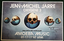 SIGNED Poster by Jean Michel Jarre