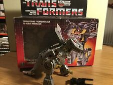 1984 TRANSFORMERS DINOBOT COMMANDER GRIMLOCK BOXED