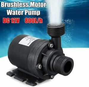 Wasserpumpe Selbstansaugende Pumpe 12V 800L Hochdruckpumpe Membranpumpe Pumpe
