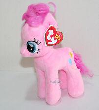 """My little Pony Pinkie Pie TY Beanie Babies Bean Bag  7"""" Stuffed Animal Toy NWT"""