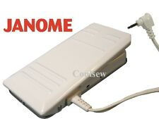 JANOME SEWING MACHINE FOOT CONTROL WHITE METAL Electronic Pedal 100% GENUINE
